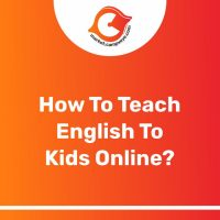 How to teach english to kids online