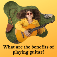 What are the benefits of playing guitar?